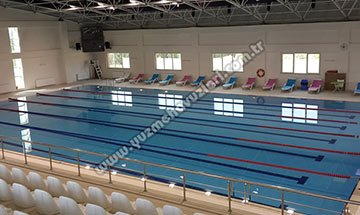 Tokat Gaziosmanpaşa Üniversitesi Yarı Olimpik Yüzme Havuzu